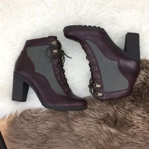 Timberland boots booties size 9 heels.
